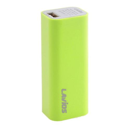 LAVIOS Powerbank Pure 2600 mAh [PB-216A] - Green - Portable Charger / Power Bank